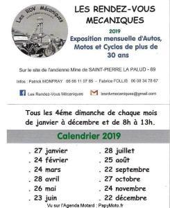 Les Rendez-vous mécaniques - Saint Pierre la Palud (69) @ Ancienne Mine | Saint-Pierre-la-Palud | Auvergne-Rhône-Alpes | France