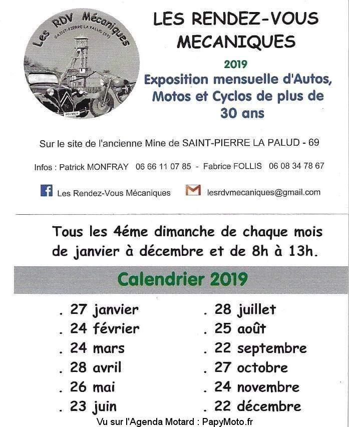 Les Rendez-vous mécaniques – Saint Pierre la Palud (69)
