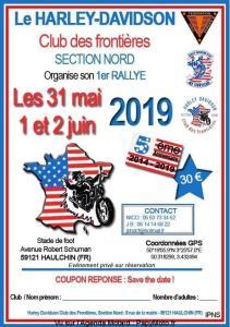 1er Rallye - Harley-Davidson Club des Frontières - Haulchin(59) @ Stade de Foot   Haulchin   Hauts-de-France   France