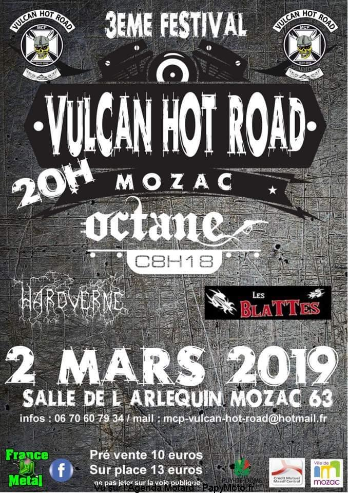3e Festival Vulcan Hot Road – Mozac (63)