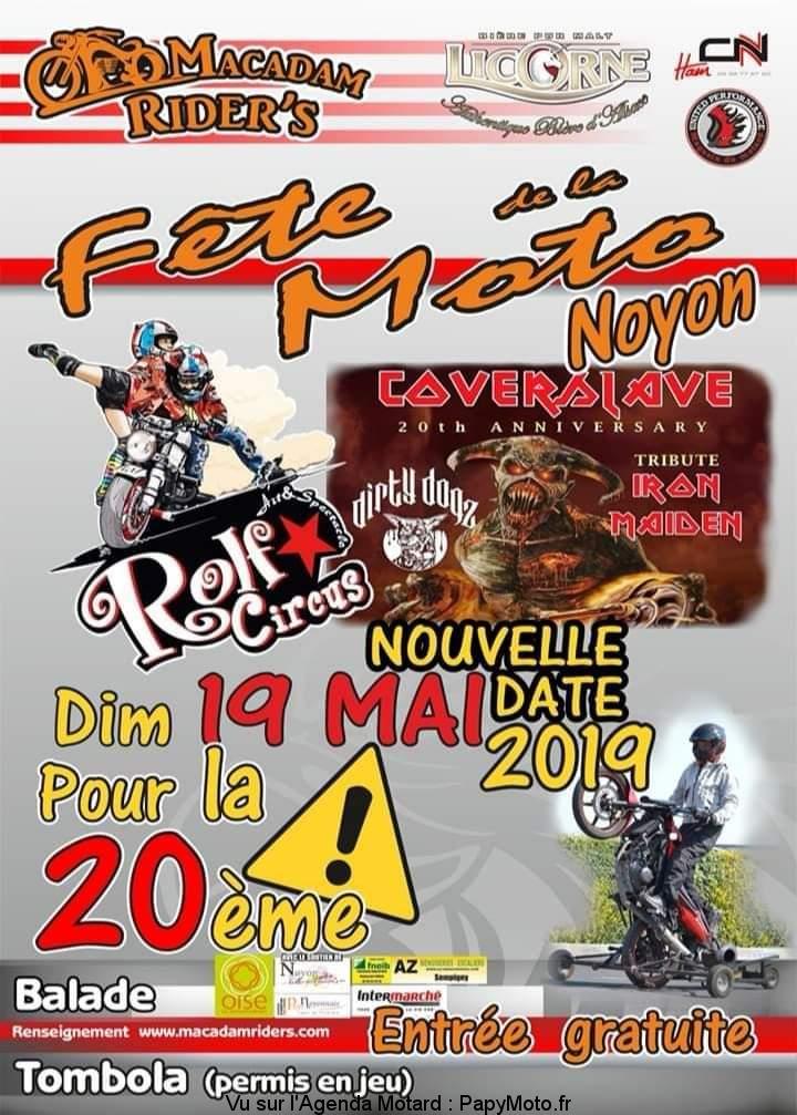 Fête de la moto – Macadam Rider's - Noyon (60)