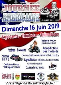 Journée Américaine – Camaret-sur-Aigues (84) @ Camaret-sur-Aigues (84)