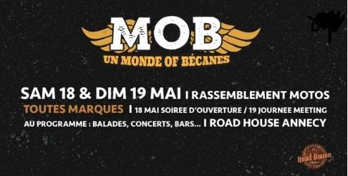 Bienvenue au MOB – UN MONDE OF BIKE- Annecy (74)