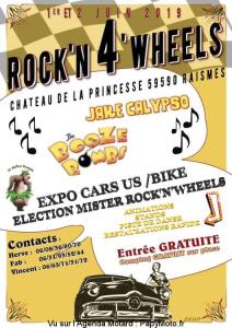 ROCK'N 4 WHEELS – RAISMES (59) @ Chateau de la Princesse | Raismes | Hauts-de-France | France