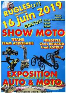 Show Moto – Rugles (27) @ Place de la Liberté  | Rugles | Normandie | France