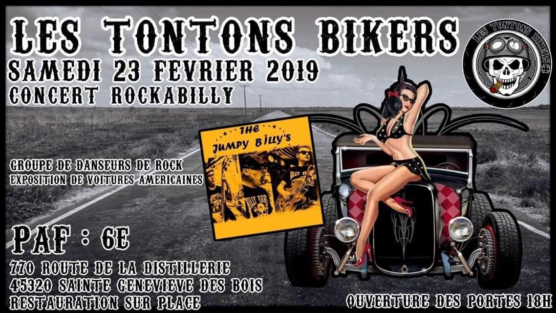 Support Party – Les Tontons Bikers – Sainte Geneviéve des Bois (45)
