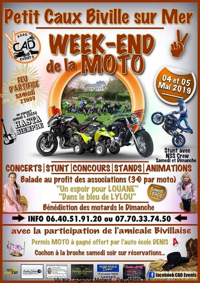 Week-End de la Moto – Biville sur Mer (76)