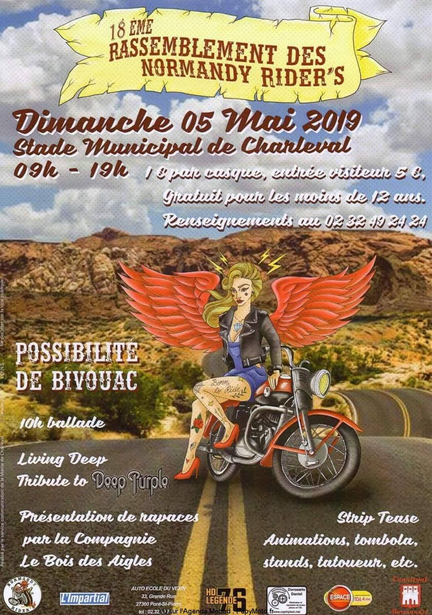 18 e RASSEMBLEMENT NORMANDY RIDER'S – CHARLEVAL (27)