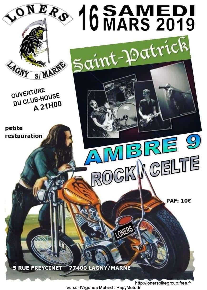 Saint Patrick – Loners – Lagny sur Marne (77)
