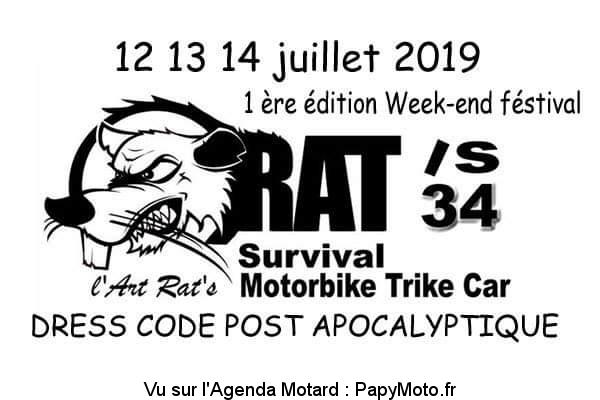 1e rencontre du RAT'S 34 Festival – Thèzan-Lès-Béziers (34)