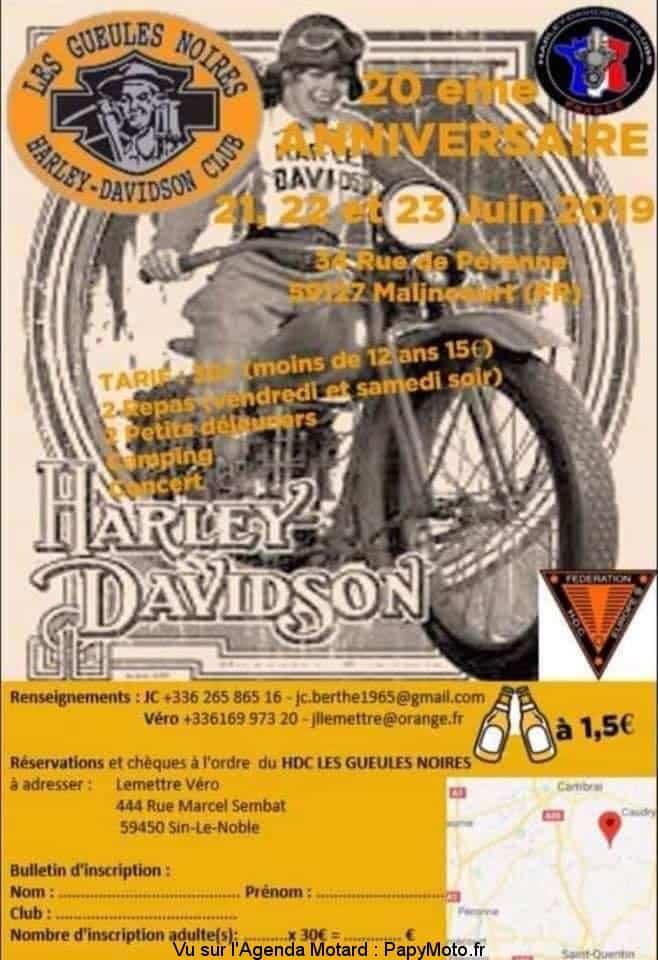 20e Anniversaire – Les gueules Noires HDC – Malincourt (59)