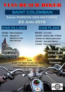 5ePardon des Motards - Saint Colomban – Vias Beach Bikers – Vias (34) @ Vias Village (34)