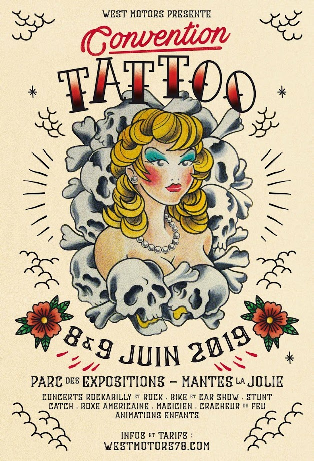 West Motors - Convention Tatoo  - Mantes la Jolie (78)