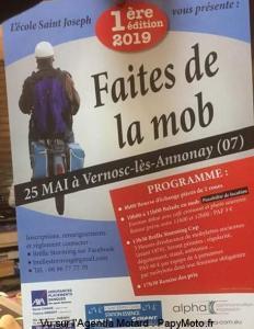 Faites de la Mob – Vernosc-lès-Annonay (07) @ Vernosc-lès-Annonay (07)