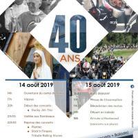 Madone des Motards 2019 - 40 Ans - Porcaro (56)