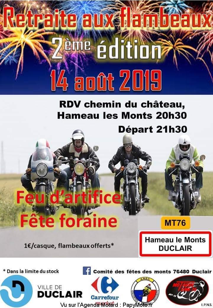 Retraite aux Flambraux – Duclair (76)