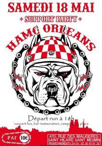 Support Party - HAMC Orléans - Saint-Hilaire-Saint-Mesmin  (45) @ 413 Rue de Maugéres