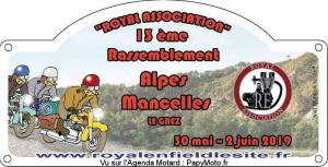 13e Rassemblement Royal Enfield - Royal Association - Le Grez (72) @ Le Grez (72)