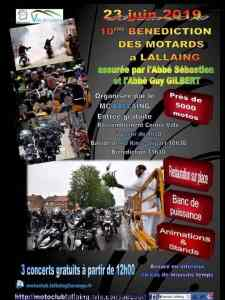 10E BÉNÉDICTION DES MOTARDS – LALLAING (59) @ Centre ville | Lallaing | Hauts-de-France | France