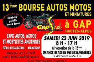 13e Bourse Autos Motos et miniatures - Gap (05) @  Gap (05)