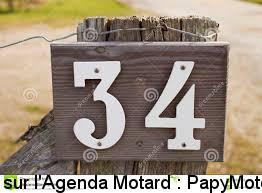 34 comme le nombre d'événements motos proposés sur papymoto.fr