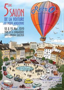 5e Salon de la voiture et moto ancienne  – Davézieux – Annonay (07) @ Parc de la Lombardière | Davézieux | Auvergne-Rhône-Alpes | France