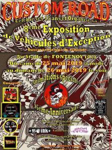 8e Exposition de véhicules d'exception -Custom Road - 15 Ans - Fontenoy (02) @ Stade | Fontenoy | Hauts-de-France | France