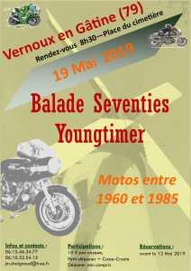 Balade Moto Youngtimer - Gâtine Moto Vintage - Vernoux en Gâtine (79) @ Place du cimetiére | Pompaire | Nouvelle-Aquitaine | France