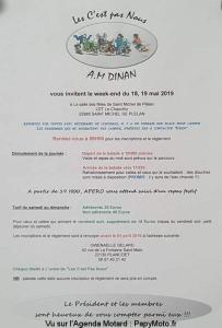 Week-end- A.M. Dinan - Saint Michel de Plélan (22) @ Salle des Fêtes | La Landec | Bretagne | France