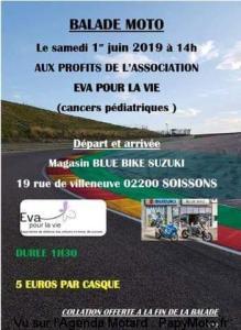 Balade moto – SOISSONS (02) @ Mafasin Blue Bike Suzuki | Soissons | Hauts-de-France | France