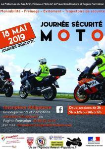 Journée Sécurité Moto - Strasbourg (67) @ Grand Est | France