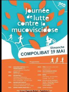 Journée de lutte contre la mucoviscidose - Balade moto - Compolibat (12) @ Compolibat | Occitanie | France