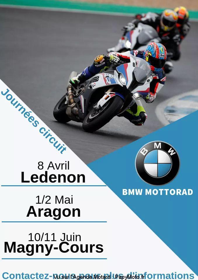 Journées Circuit – Ledenon (30) – Aragon (Espagne) – Magny-Cours (58)