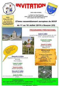 27e Rassemblement  Européen du Side Car Club Français - Gouzon (23) @ Gouzon | Nouvelle-Aquitaine | France