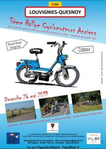3e Rallye Cyclomoteurs anciens - Louvignies-Quesnoy (59) @ Louvignies-Quesnoy | Hauts-de-France | France
