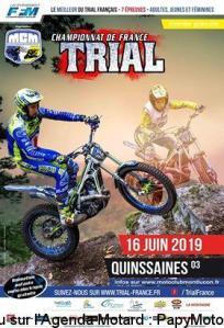 Championnat de France Trial - Quinssaines (03) @ Quinssaines   Auvergne-Rhône-Alpes   France