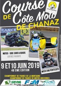 Course de Côte Moto – Chanaz (73)