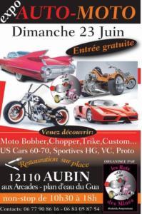 Expo Auto-Moto - Les Rats des Mines - Aubin (12) @ Arcades - Plan d'eau du Gua | Aubin | Occitanie | France