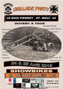 Grillade Party-Coast Brothers West – Saint Molf (44) @ Le Bois Pierrot | Saint-Molf | Pays de la Loire | France