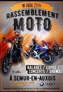 Rassemblement Moto – Semur-en-Auxois (21) @ Esplanade de la Bague | Semur-en-Auxois | Bourgogne-Franche-Comté | France