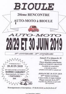 20e Rencontre Auto-Moto – Bioule (82) @ Bioule   Occitanie   France