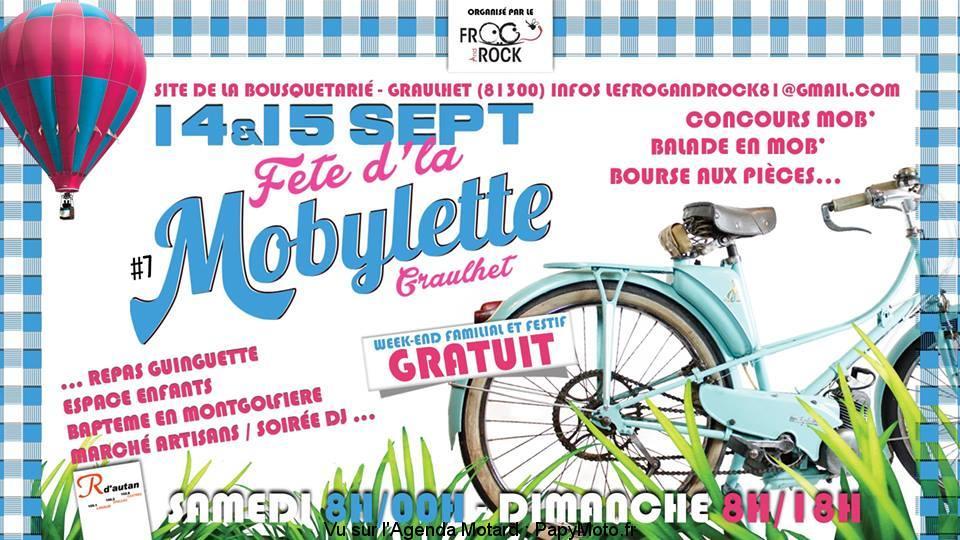Fête d'la Mobylette – Graulhet (81)