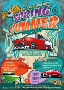 Spring and Summer Party 2019 - Saint-Maurice-d'Ardèche (07) @ Saint-Maurice-d'Ardèche | France
