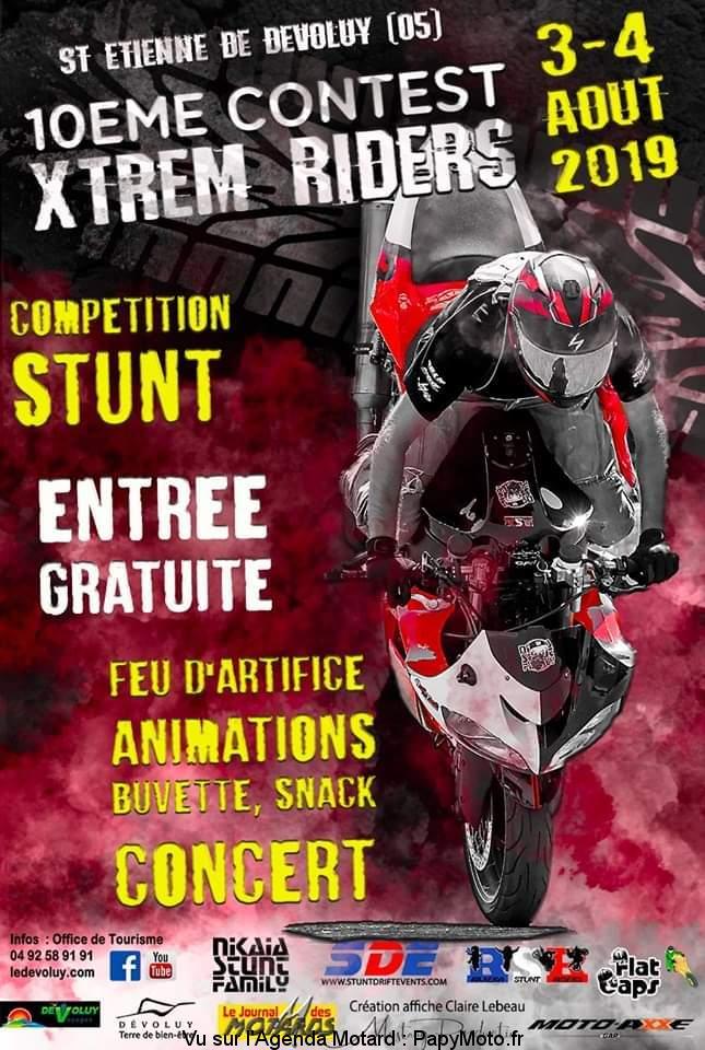 10e Contest International Extrême Riders – Saint Etienne en Dévoluy (05)