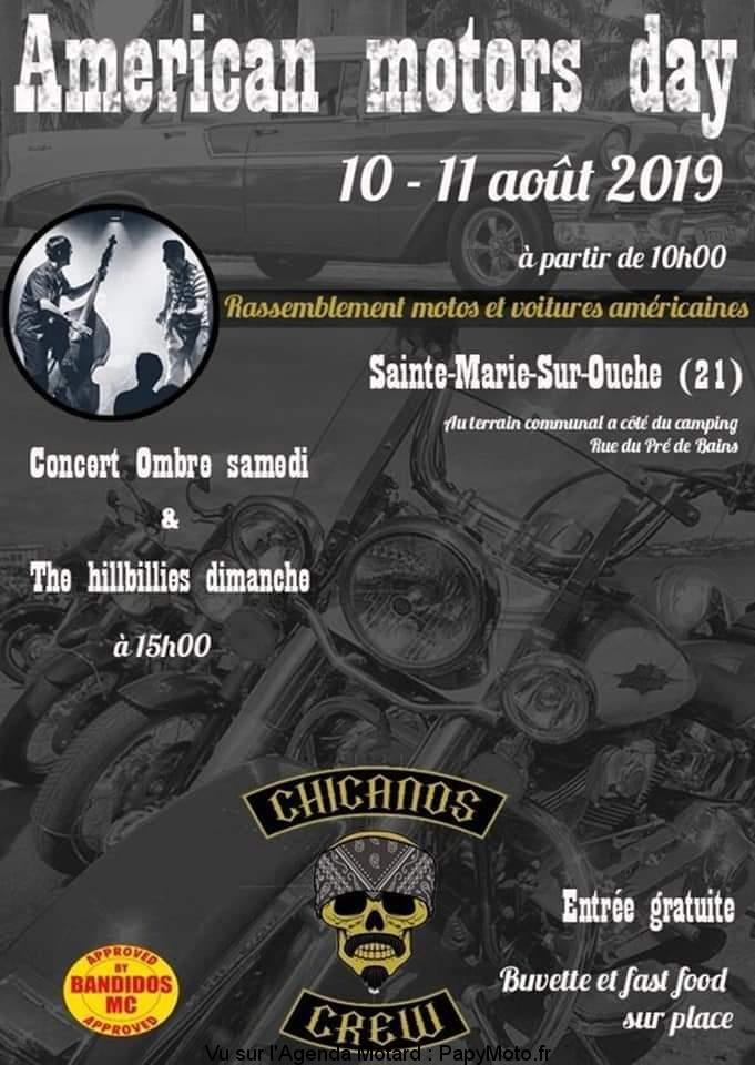 Américan motors day – Chicanos Crew – Sainte Marie sur Ouche (21)