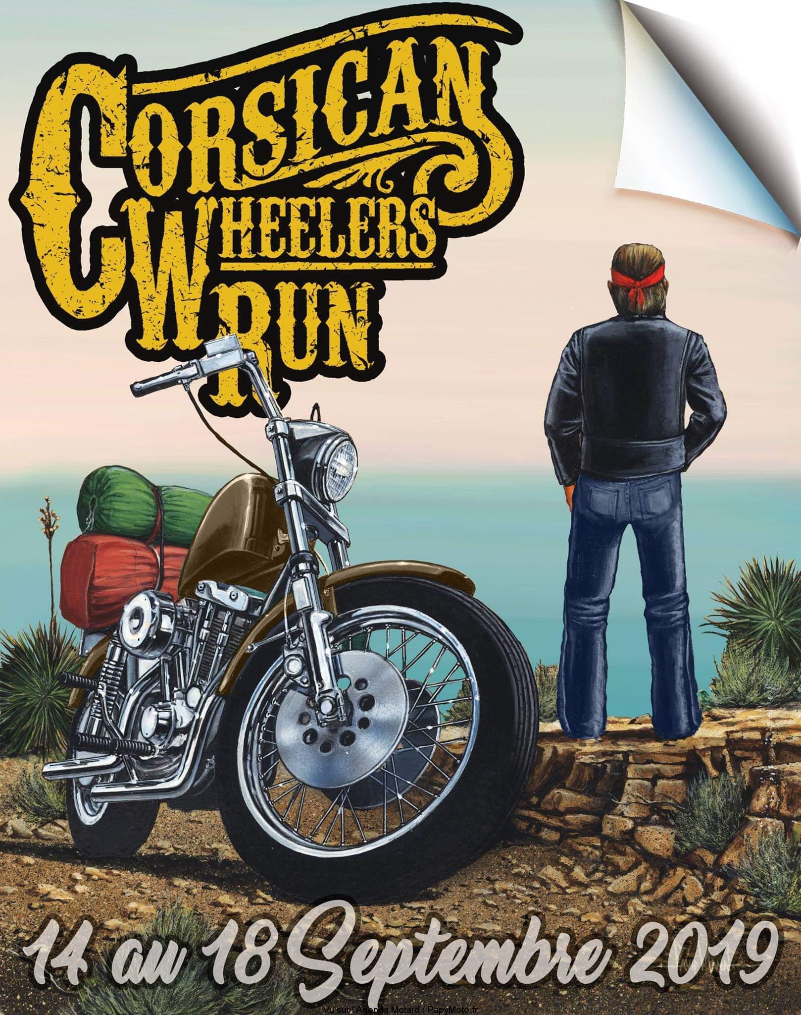 Corsican Wheelers Run – Corse