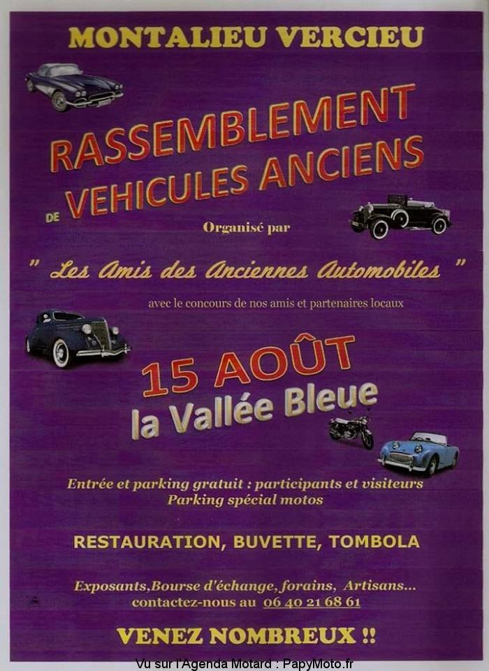 Rassemblement véhicules anciens – Montalieu Vercieu (38)