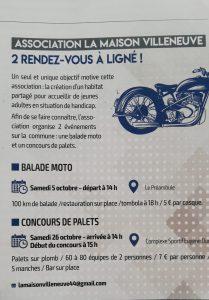 Balade Moto La maison Villeneuve - Ligné (44) @ Parking du Préambule | Ligné | Pays de la Loire | France