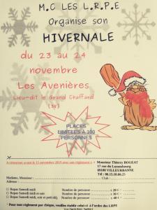 Hivernale du Moto Club Les Roule Peut Etre - Les Avenière (38) @ Les Avenières 38 | Les Avenières | Auvergne-Rhône-Alpes | France