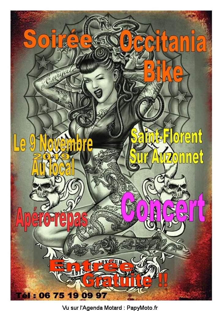 Soirée MCP OCCITANIA BIKE – Saint-Florent-sur-Auzonnet (30)